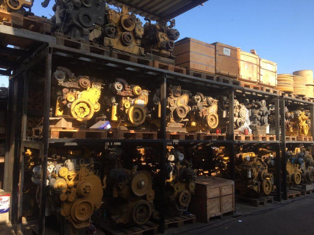 used heavy equipment engines